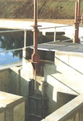 Installed Sluice Gate